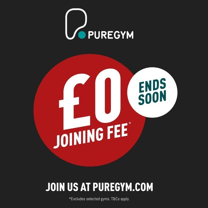 Enjoy a £0 joining fee when you sign up to PureGym Liverpool Central!
