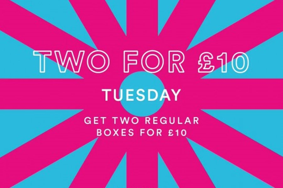 Two for £10 at Wok & Go