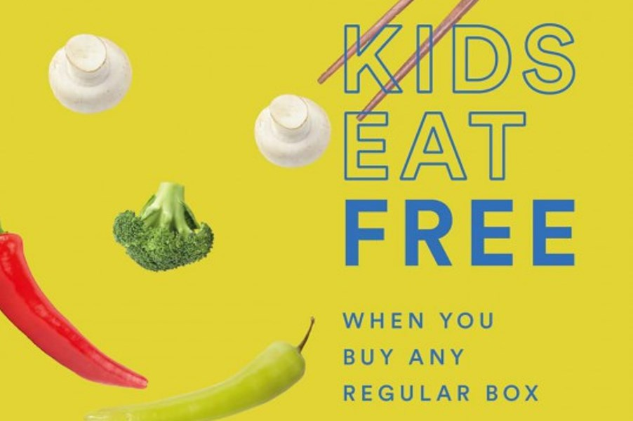 Kids eat free at Wok & Go