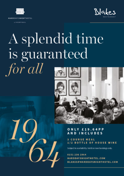 A splendid time is guaranteed for all at Blakes restaurant
