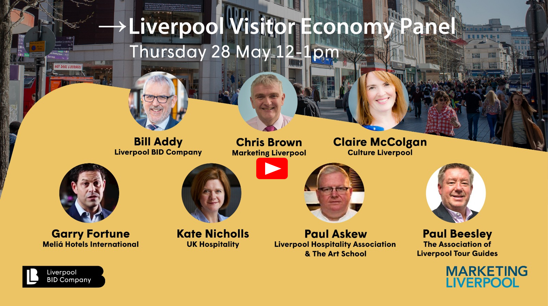 Watch the Liverpool Visitor Economy Panel from 28 May
