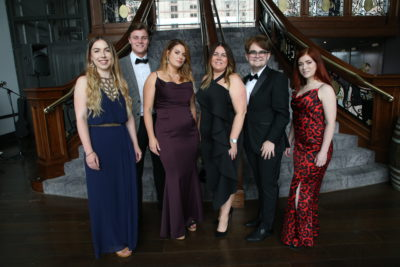 300 of the city's professionals were dressed to impress at the long-awaited Professionals' Dinner