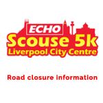 5k Fun Run – Road closure Map – 15 October 2017