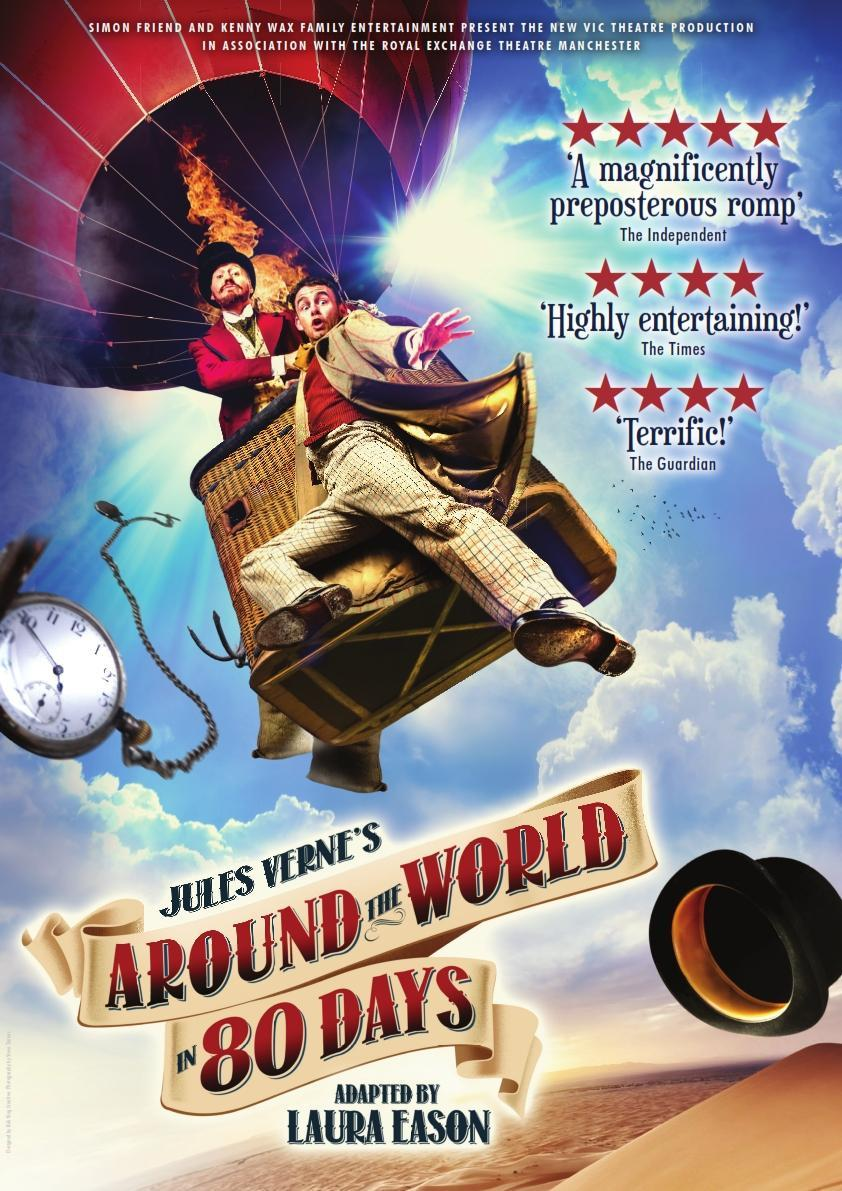 Around The World Fashion Publications: Join Phileas Fogg On An 'around The World' Adventure This