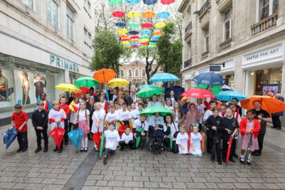 ADHD Foundation Umbrella Project returns to Liverpool street for the summer