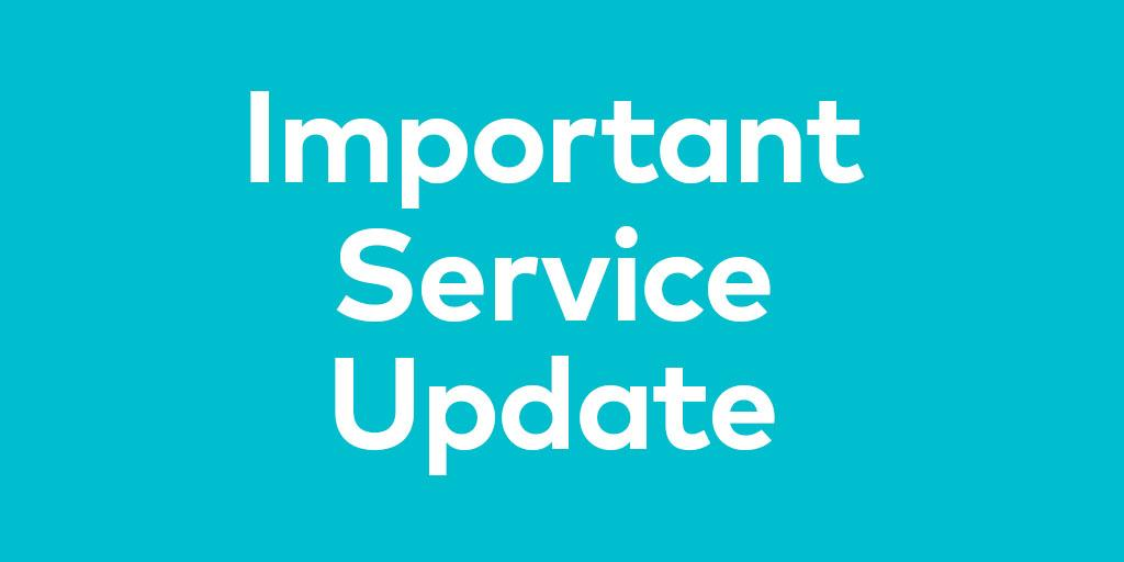 Arriva continues to run services with a further amended timetable across the North West