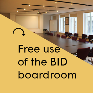 Free use of the BID Boardroom