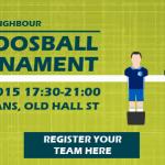 Meet Your Neighbour… and beat them at Table Foosball!