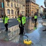 BID Street Rangers reach one year milestone of  cleaning city centre streets