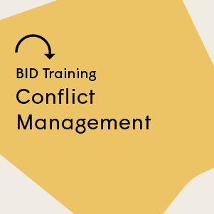 Conflict Management Training 7 November 2019