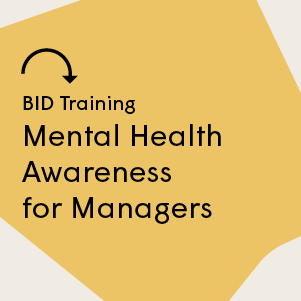 Mental Health Awareness for Managers 13 November 2019