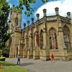 """Reopening party for """"Bombed Out Church"""" gardens"""