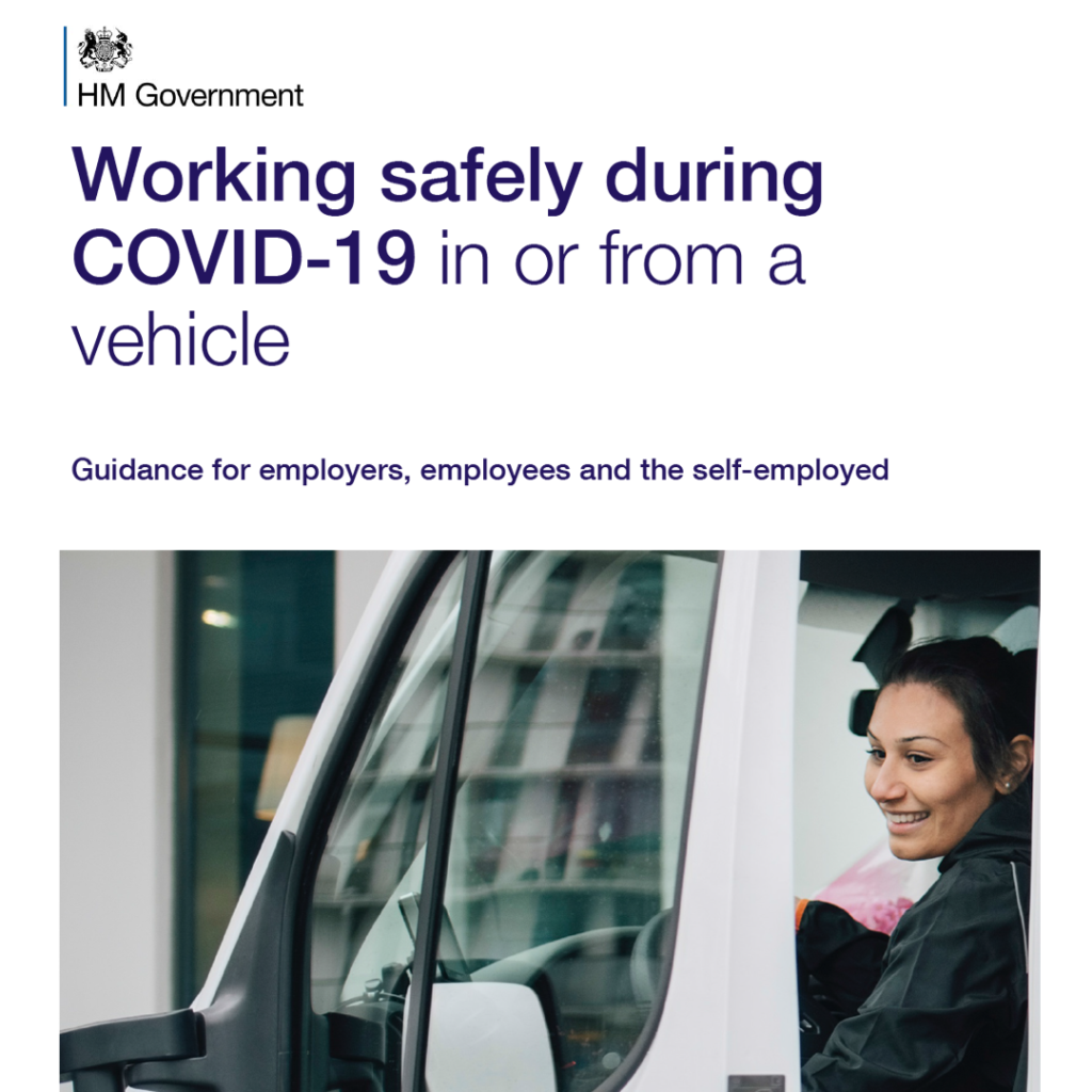 COVID Secure Guidelines - in from vehicles