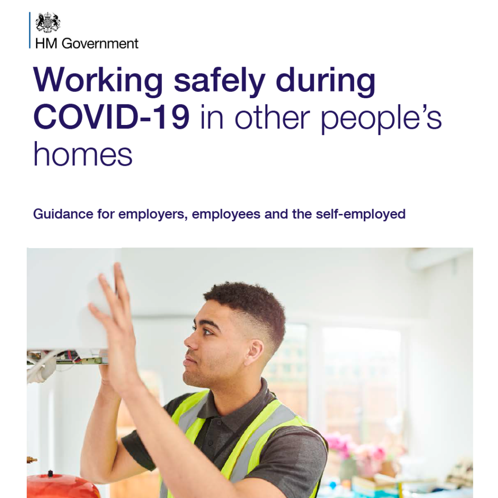 COVID Secure Guidelines - in other's homes