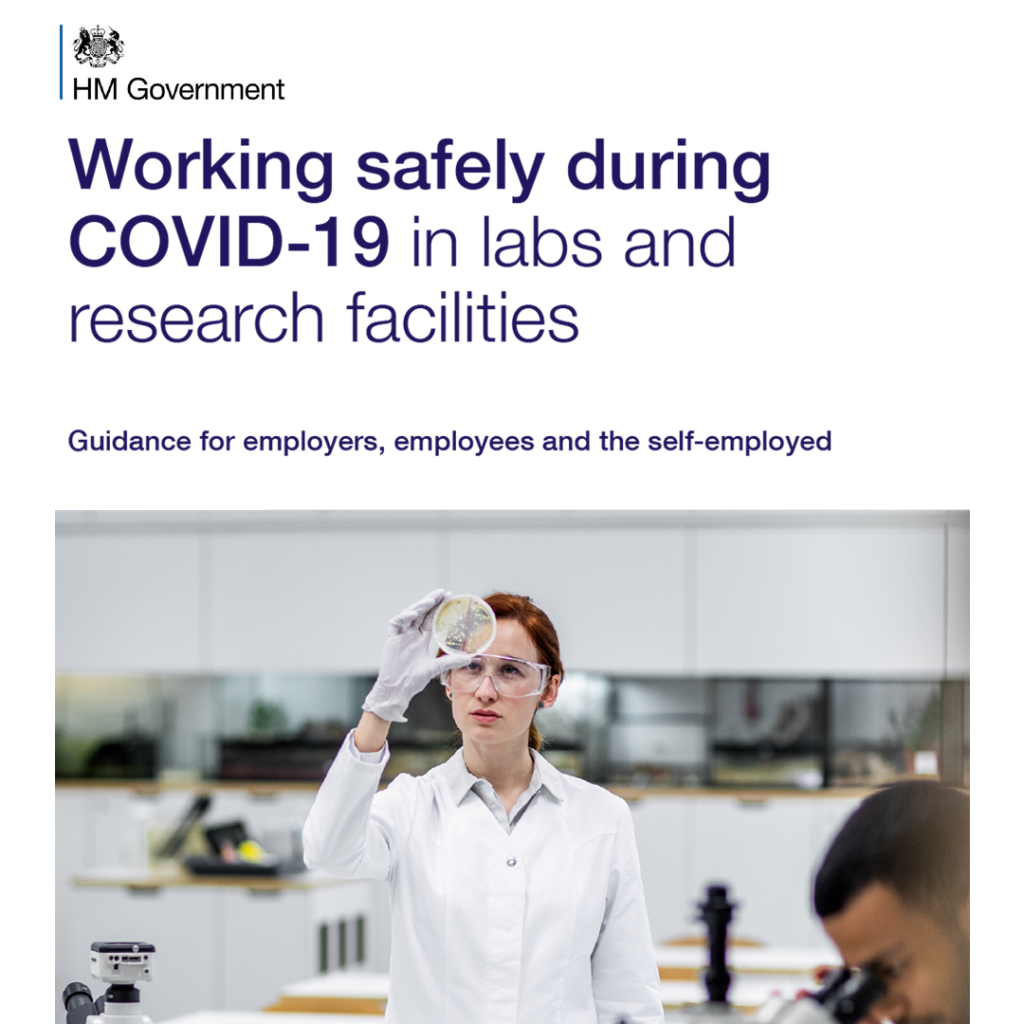 COVID Secure Guidelines - labs and research