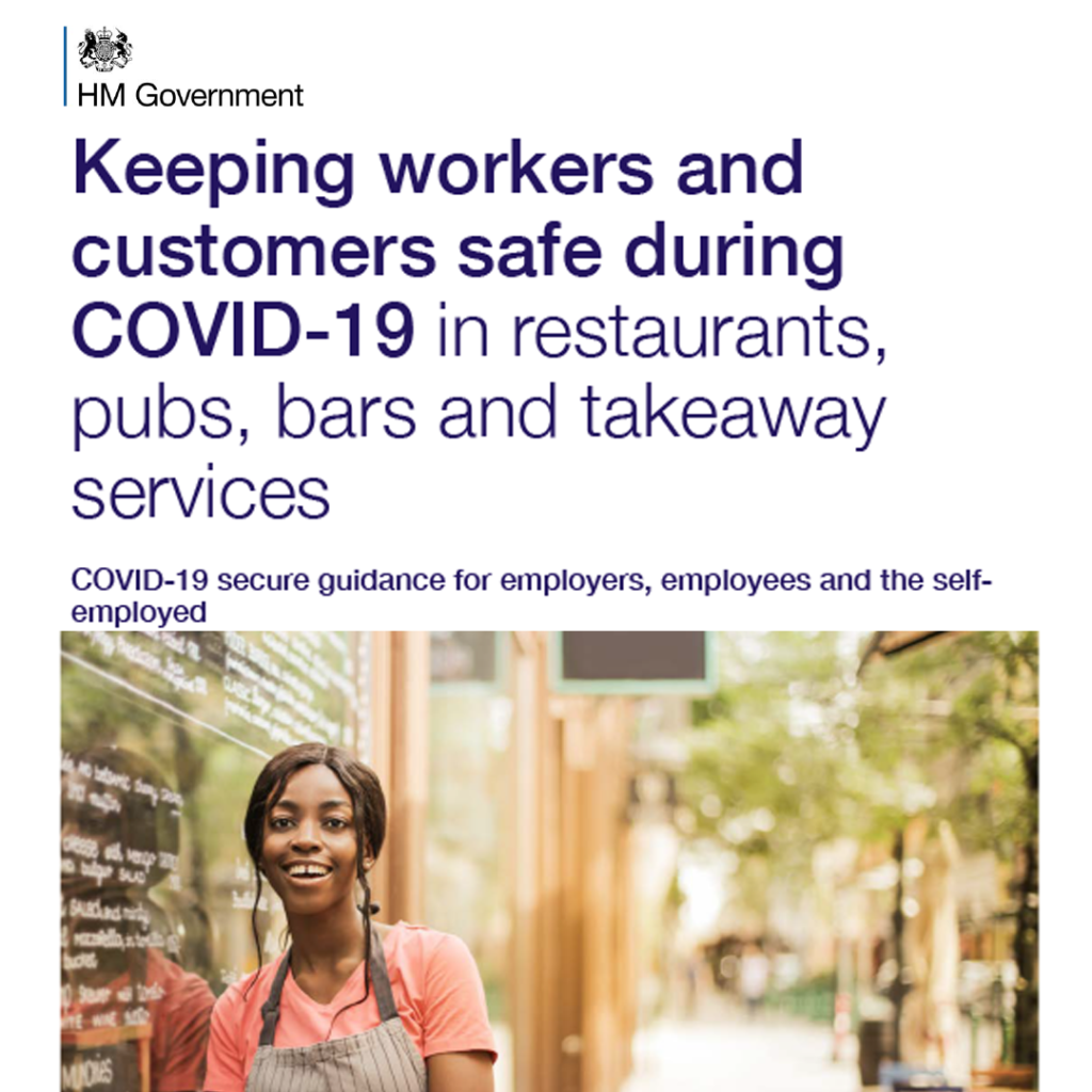 UK Government COVID-19 Secure Guidelines