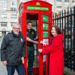 Liverpool telephone box is transformed into a life-saving defibrillator