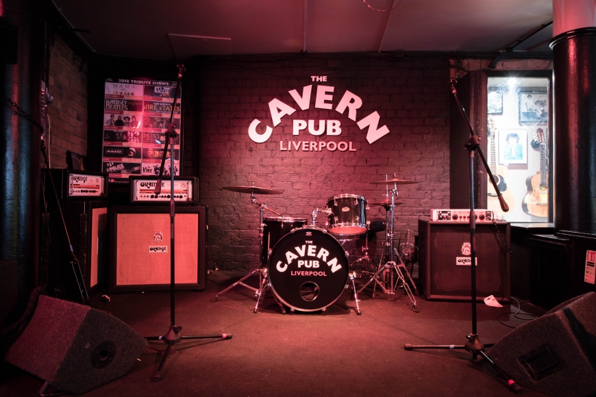 Our top suggestions for live music venues in Liverpool city centre