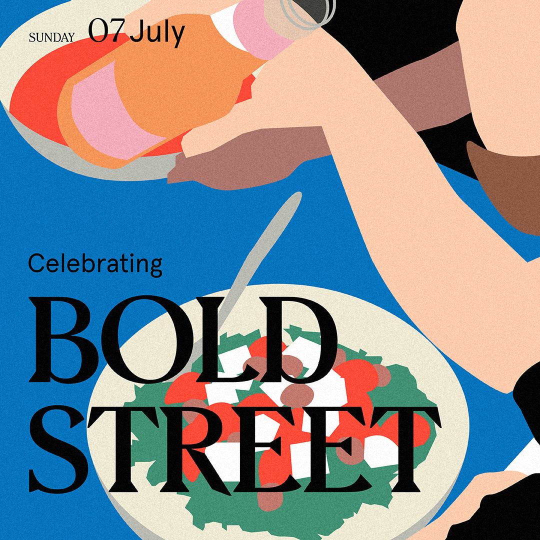 Celebrating Bold Street Social Media Post