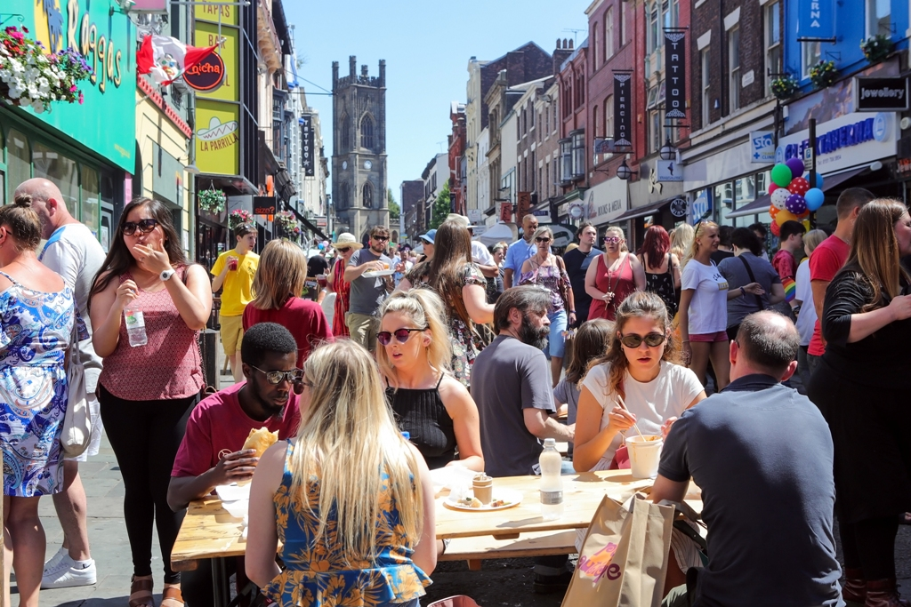 Celebrating Bold Street Liverpool BID Company