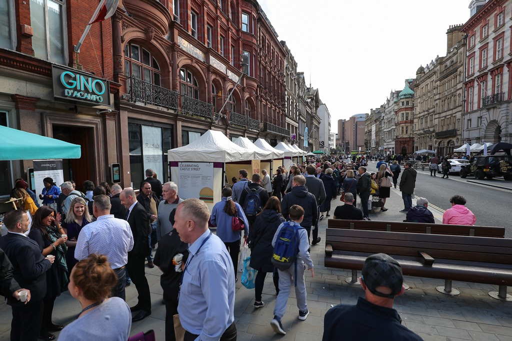 Celebrating Castle Street 2018 Liverpool BID Company Food and Drink Week