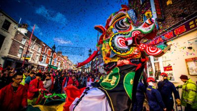 Chinese New Year in Liverpool, The Year of the Pig!