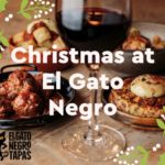 Christmas at El Gato Negro Tapas Exchange Flags