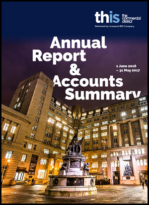 Commercial District Annual Report Year 1 (2016-21)