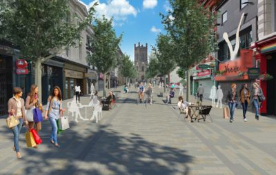 Conceptual visual - Bold Street pedestrianisation