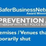 21/3/2020 – Crime prevention advice for closed premises
