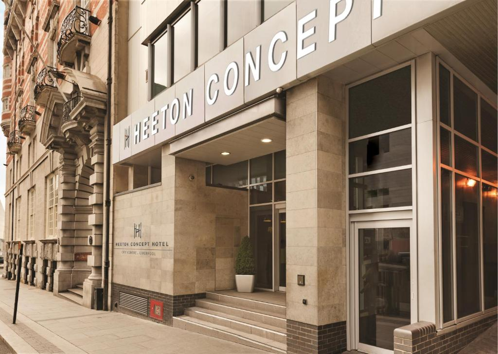 Days Inn Liverpool city centre has been rebranded to Heeton Concept Hotel!