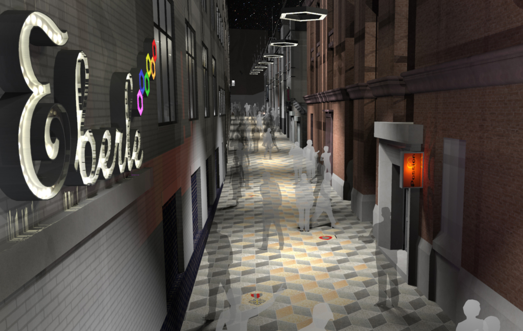 Eberle Street Commercial District makeover