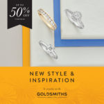 Enjoy up to 50% off at Goldsmiths