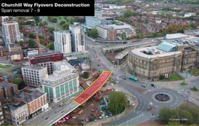 Flawed flyover removal nears halfway stage