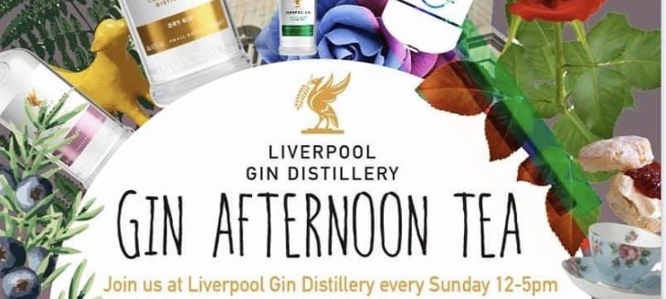 Gin Afternoon Tea at Liverpool Gin Distillery