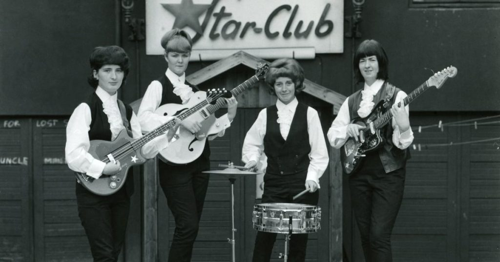 Girls Don't Play Guitars – The Untold Story Of The World's First All Girl Rock and Roll Group!