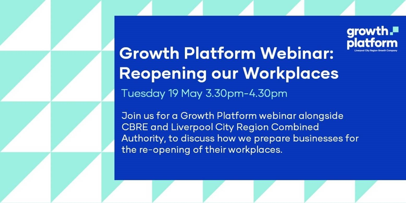 Growth Platform Webinar: Tuesday 19 May, 3:30pm-4:30pm