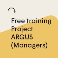 Book your place for Project ARGUS training