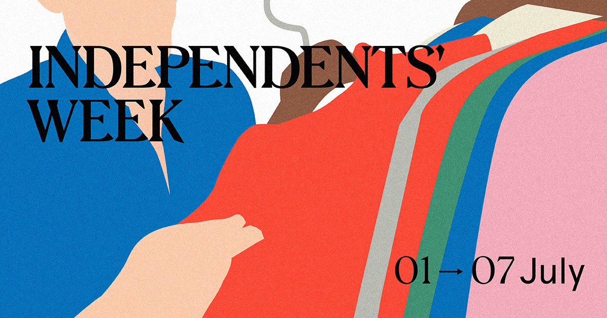 Independents' Week Social Media Post