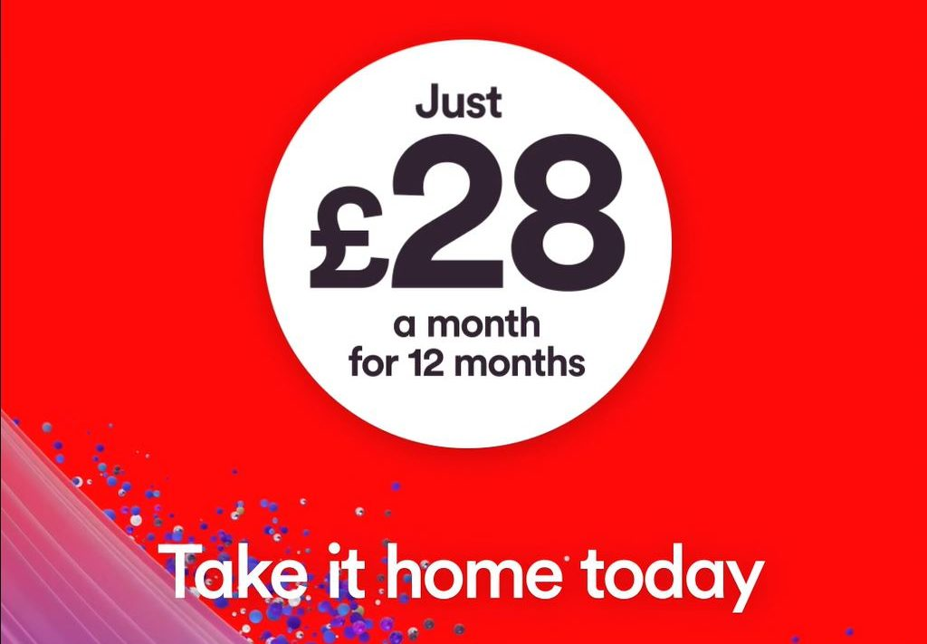 Take Home fibre broadband and a sim today at Virgin Media