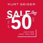 Get up to 50% off selected items at Kurt Geiger