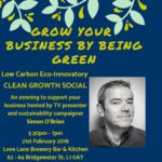 Clean Growth Social hosted by Low Carbon Eco-Innovatory