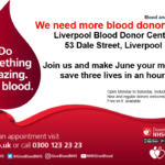 Be a real champion this summer. Give one hour, donate one unit of blood and save three lives