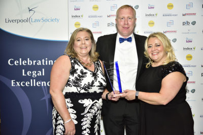 Morecrofts recognised for its family and community work at Law Society Awards