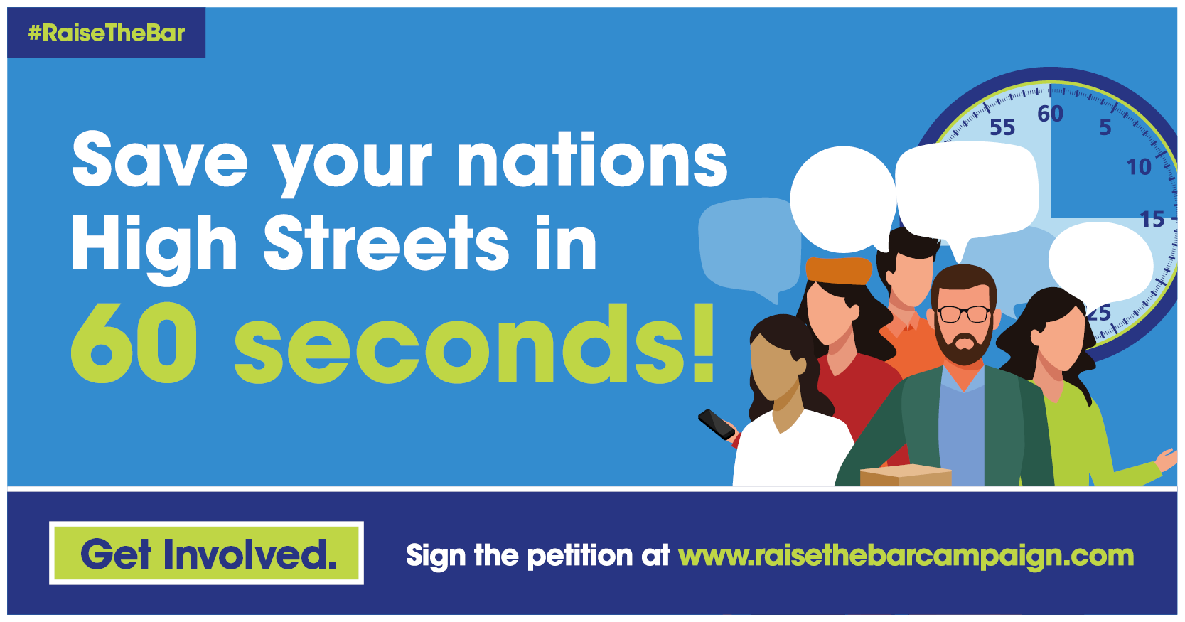 Eight weeks to save the UK High Streets