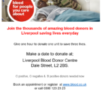 O positive, O negative &  B positive blood donors needed now!
