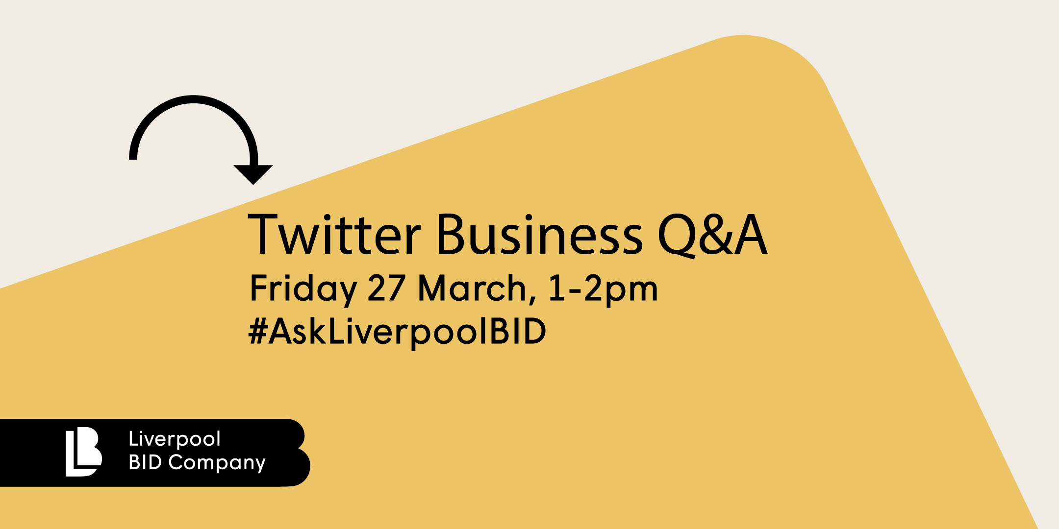 Liverpool BID Company Twitter Business Q&A