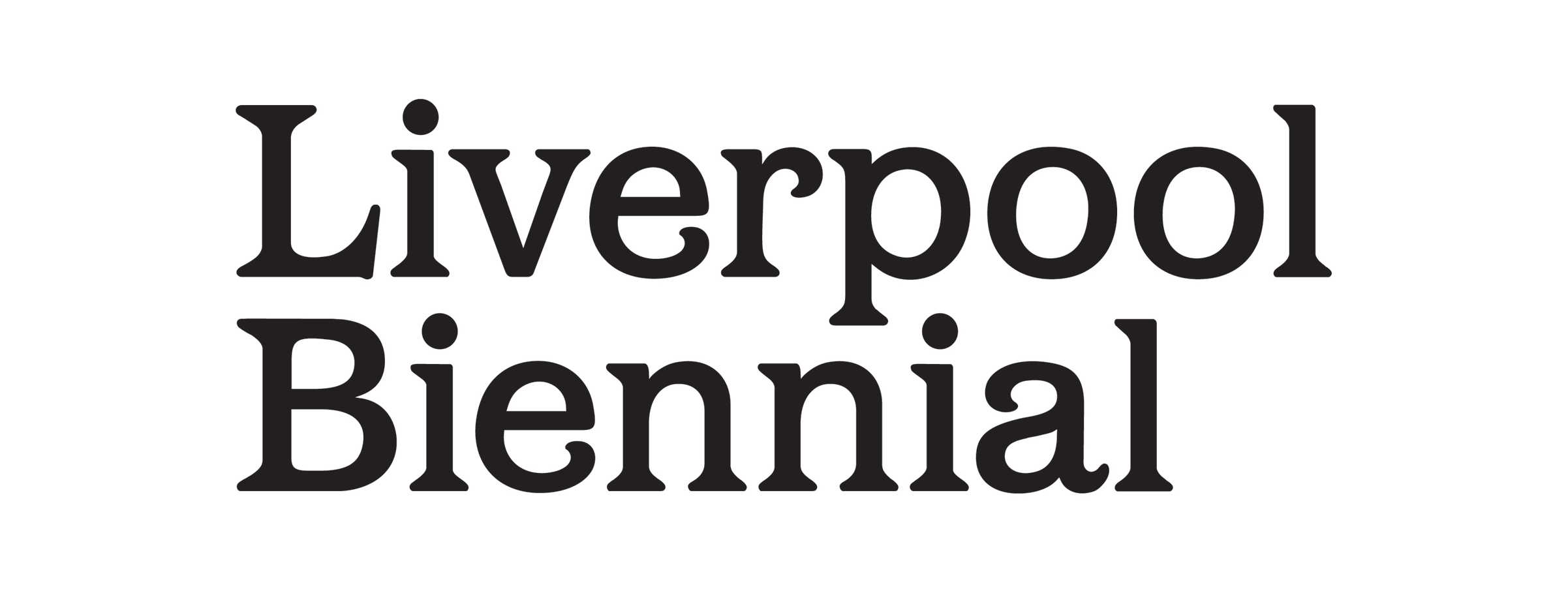 Liverpool Biennial Logo - Art in Motion