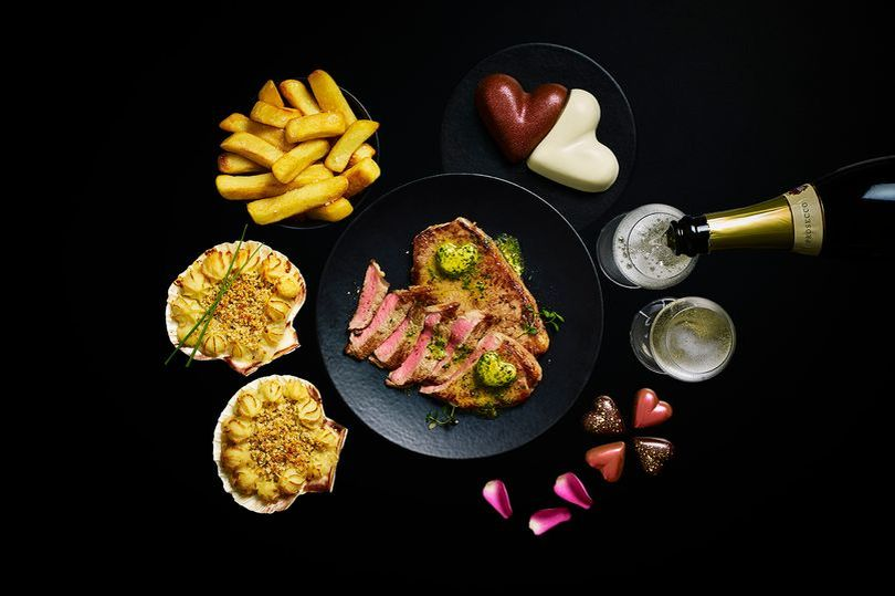 Dine in with M&S this Valentine's Day!