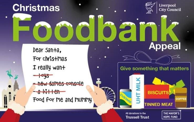 Mayor's food-bank appeal to help feed the hungry this Christmas